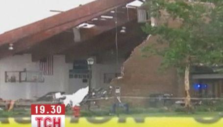 Последствия мощного торнадо и ливня ликвидируют в США
