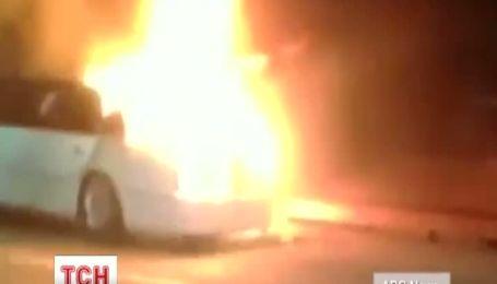 В США загорелся лимузин с бабушками