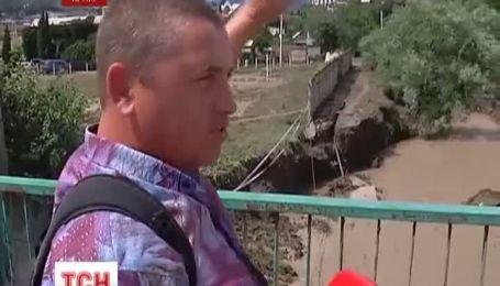 В Крыму курортное село дважды накрыло паводком