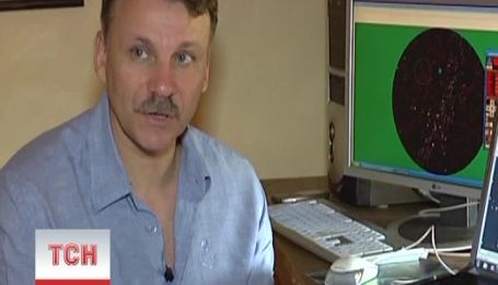 Украинец с помощью самодельного телескопа открыл комету