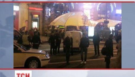 Английских футбольных болельщиков избили в центре Киева