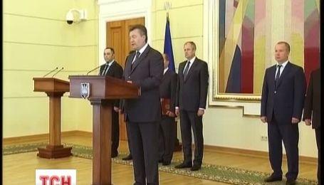 Виктор Янукович потребовал от правоохранителей принципиальных кадровых решений