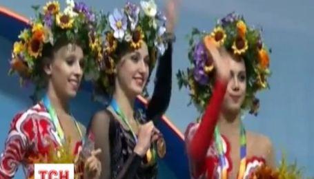 Україна посіла друге місце у командному заліку на Чемпіонаті світу з художньої гімнастики