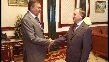 Лавринович с Януковичем обсудили реформу судебной системы
