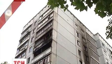 Взрыв в харьковской девятиэтажке