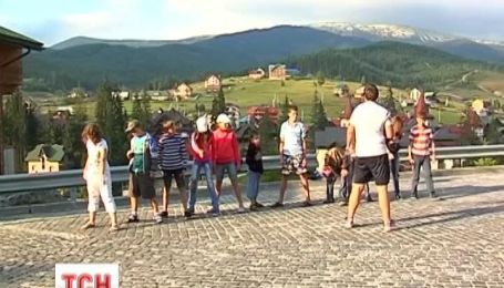 В Карпатах произошел туристический бум