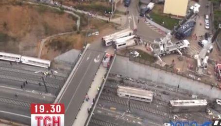 Кількість жертв аварії потягу в Іспанії збільшилася до 80 людей