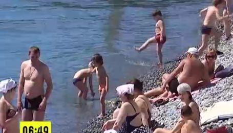 Украинцы массово отправляются к морю