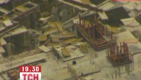 100-метровый смерч разрушил строительную площадку в Австралии