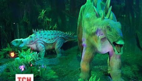 В Киеве открылась уникальная выставка динозавров