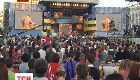 Как празднуют День Независимости на Майдане
