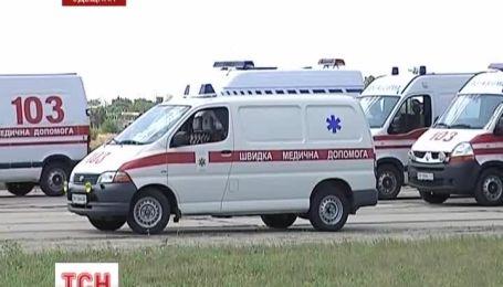 В Одессу привезли 5 украинцев, пострадавших в аварии в Беларуси