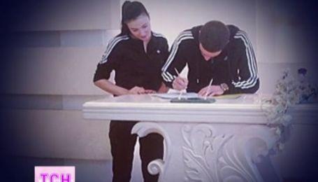 Анастасия Приходько вышла замуж в спортивном костюме