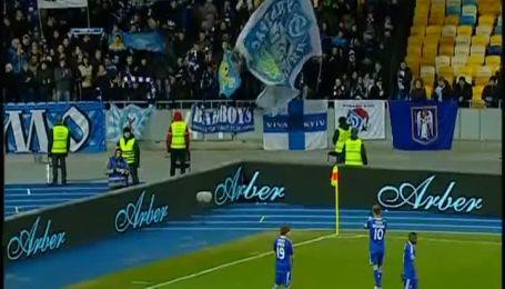 Динамо - Ворскла - 1:0. Видео