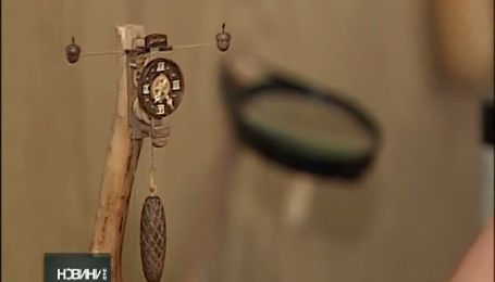 Украинец создает полностью деревянные наручные часы