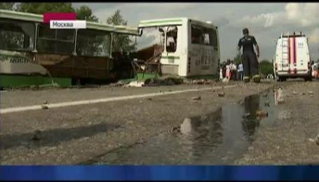 У Москві КАМАЗ вбив десятки пасажирів рейсового автобусу