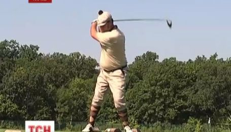 В Харькове состоялся ретро турнир по гольфу