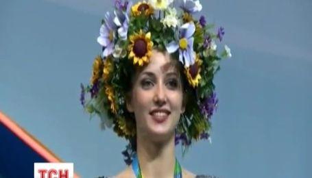 Украинскую гимнастку унизили, включив российский гимн во время ее награды