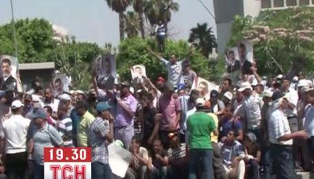 В Єгипті військові розстрілюють прихильників президента Мурсі