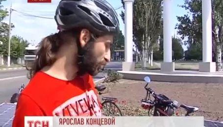 В Україні на дорогах з'явились сонячні велосипеди