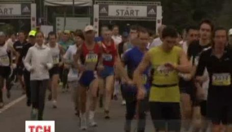 Украинцы собрали все призы на Московском марафоне мира