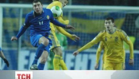 Сборная Украины по футболу сохранила шанс на то, чтобы попасть на Чемпионат мира