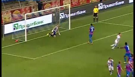 Днепр - Арсенал - 3:0. Видео гола Коноплянки