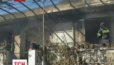 Грецию атакуют страшные лесные пожары