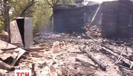 На Житомирщине во время пожара погиб трехлетний мальчик