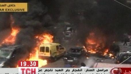 В столиці Лівану пролунав потужний вибух