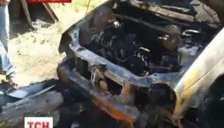 Вщент згоріло авто активіста руху проти свавілля ДАІ