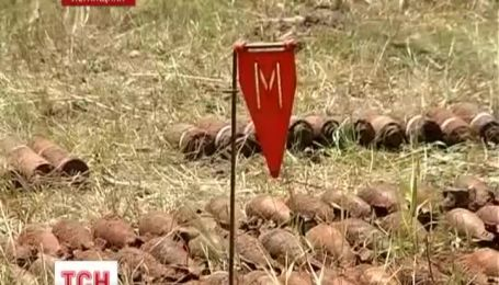 На Луганщине взорвали более 500 снарядов