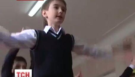 В школах Днепропетровска отныне в перерывах проводят зарядку
