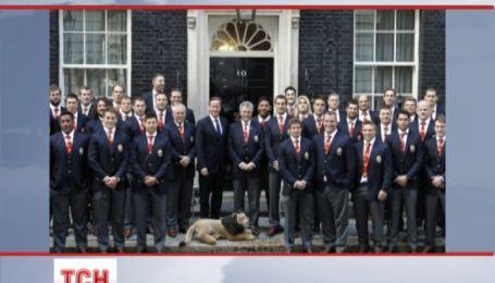 Регбісти поставили роги британському прем'єру