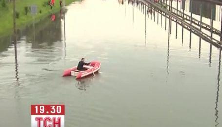 Дощі перетворили Варшаву у Венецію