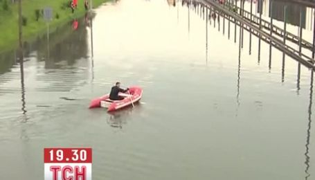 Дожди превратили Варшаву в Венецию
