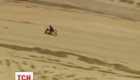 Поліція у Лос-Анджелесі влаштувала гонитву за буйним мотоциклістом