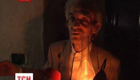 94-річний харківський пенсіонер просидів півмісяця без світла