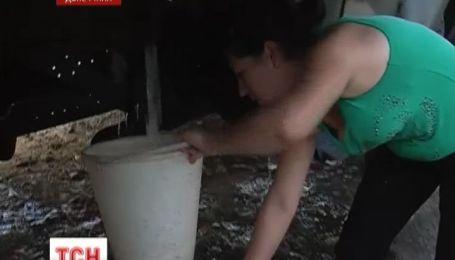 Без воды остался Шахтерск Донецкой области