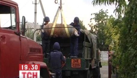 В Одесской области взорвали 500-килограммовую бомбу времен ВОВ