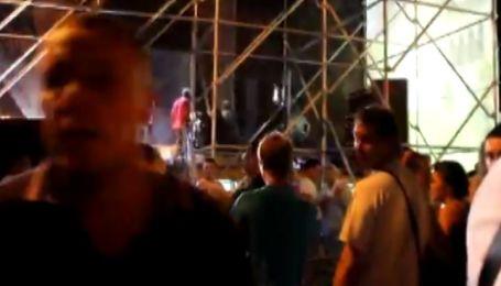 Команда Баскова сломала челюсть корреспонденту