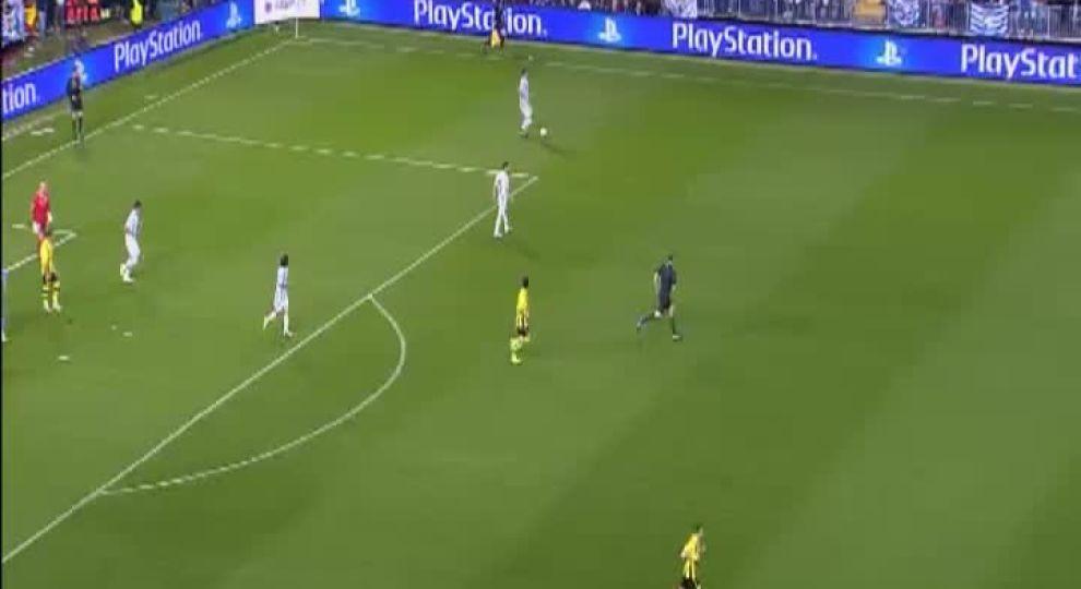 Боруссия малага видеообзор матча