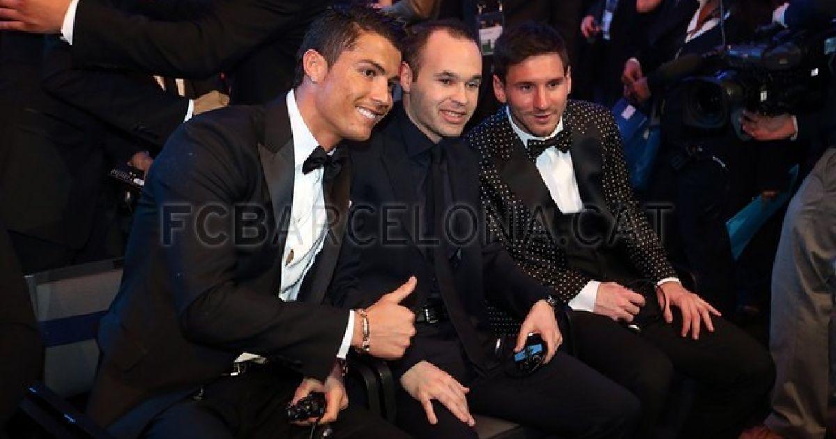 Роналду, Іньєста і Мессі ще в очікуванні... @ fcbarcelona.cat