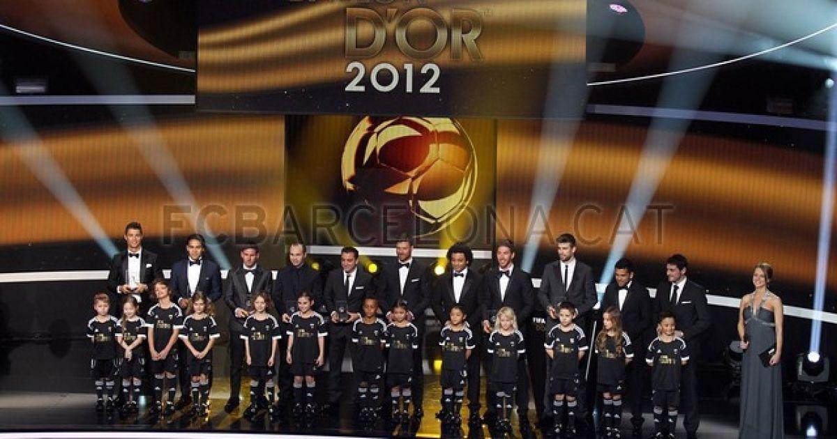Команда 2012 року @ fcbarcelona.cat