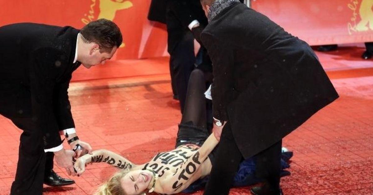 FEMEN разделись на красной дорожке Берлинале @ femen.org