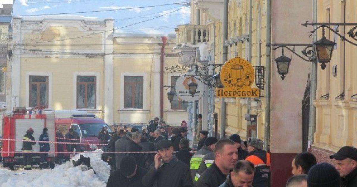 Смертник взорвал себя в помещении университета @ КПУ