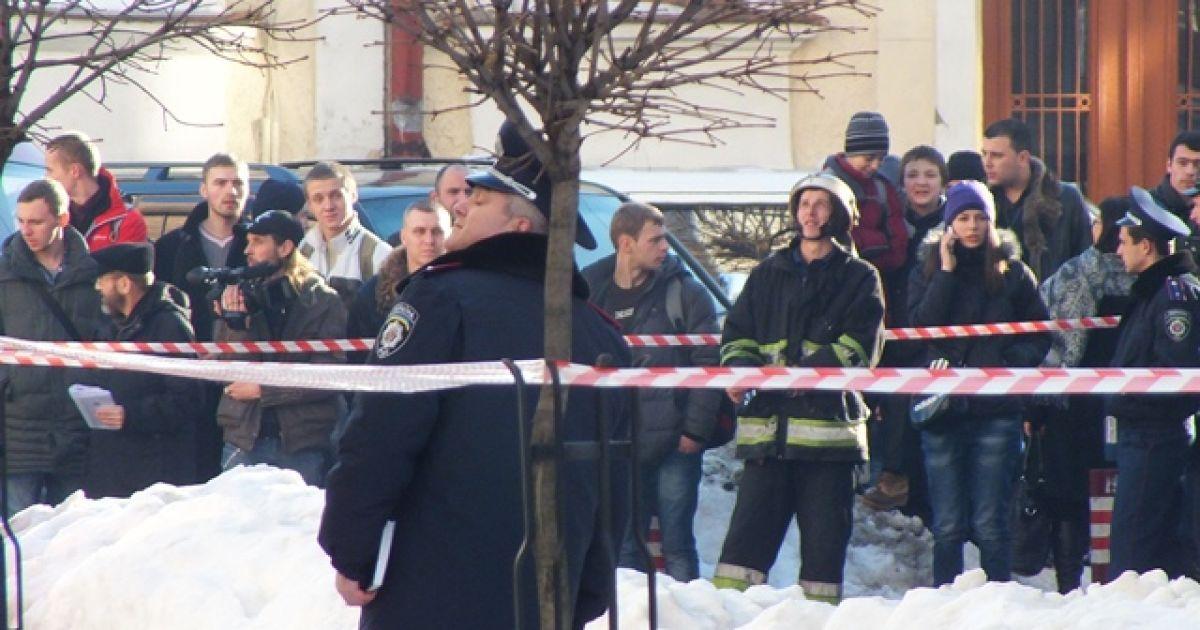 Смертник взорвал себя в помещении университета @ chelgo.ru