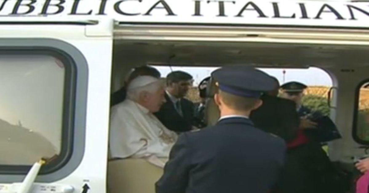 Останній день Папи Римського. @ YouTube