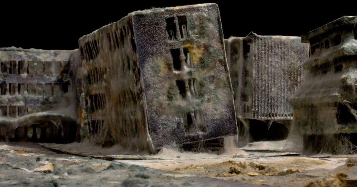 Художник спробував показати міста після кінця світу @ bigpicture.ru