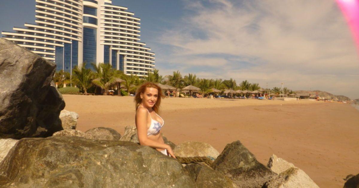 Секс на пляже в эмиратах